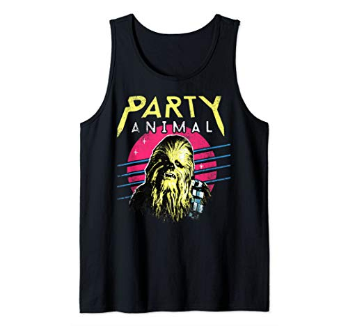 Chewbacca Tank Top (Star Wars Chewbacca Neon Party Animal   Tank)