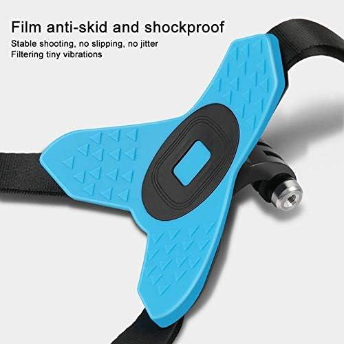 Helmet Belt Mount Border Frame Mount Protective Cage for GoPro HERO7 Black //6//5 Durable