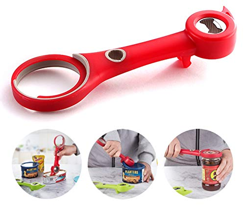 - Simble4us 6-in-1 Multi-Function Bottle Can and Jar Opener, Kitchen Tool Lid Seal Remover