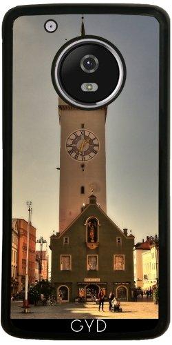 Funda de silicona para Moto G5 Plus - Ciudad Torre Straubing by Helsch1957
