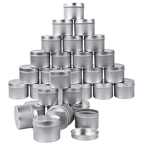 Pack De30 Latas De Metal Para Velas