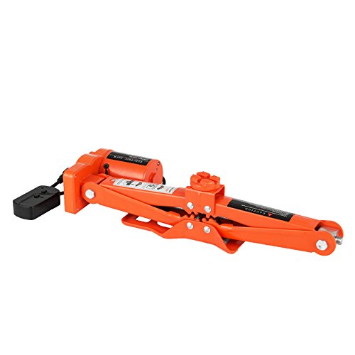 BestEquip Electric Car Jack 3 Ton 6600 LB Electric Scissor Jack 12V DC with Electric Impact Wrench Car Repair Tool for Sedans and Trucks by BestEquip (Image #3)