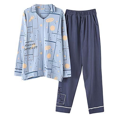 Pigiameria Da Medicazione Men Cotone Dormire Pigiama Stampa In Homewear Set Comfort Per Mmllse Pigiama q4UE7E