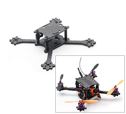usmile HSKRC140 140mm Unibody Micro Carbon Fiber Quadcopter Frame Kit Mini quad fpv racing drone with 3mm Arm support for Runcam Micro Swift FPV camera