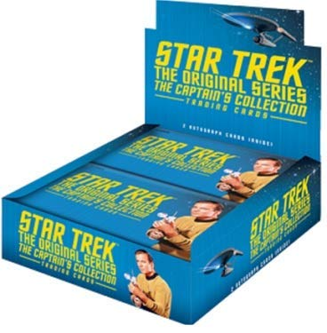 Star Trek Original Series Captain's Collection Trading Cards Box -