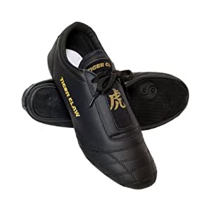 Tiger Claw Martial Arts Shoes - Black - Size 1