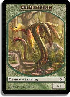 (Magic: the Gathering - Saproling Token (5/6) - Tenth Edition)