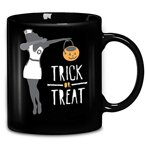 Dabbing Halloween Nurse T-Shirt Coffee Mug 11oz & 15oz Gift Tea Cups]()