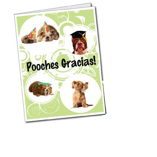 (VictoryStore Jumbo Greeting Cards: Giant Thank You Card (Dogs w/Garcias) 2' x 3' card with)