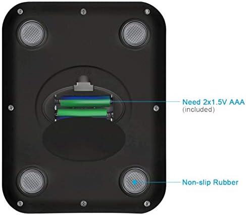 Yebobo Digitale KüChe Lebensmittel Waage 11 Pfund Gramm und Unzen Kleine, Von Hinten Beleuchtete Silber Batterien Aus Edelstahl Enthalten