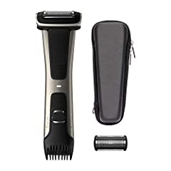 The Bodygroom Series 7000 has a unique dual-sided design that allows you to effortlessly switch between shaving and trimming. The four-directional pivoting shaver adapts to the contours of your body for a smooth shave. The integrated trimmer ...