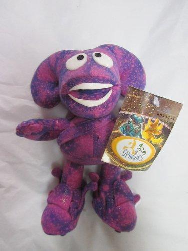 """SPHERIKS Purple 7"""" Plush 2001"""