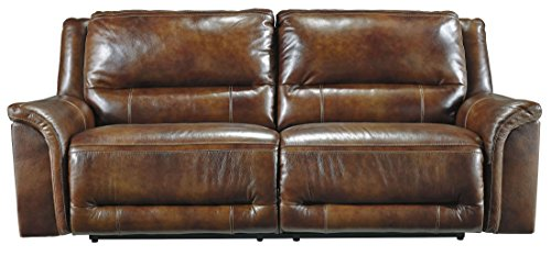 Signature Design by Ashley Jayron 2 Seat Reclining Power Sofa, Harness