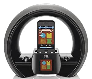 jbl on air wireless iphone ipod airplay speaker dock with fm inte. Black Bedroom Furniture Sets. Home Design Ideas