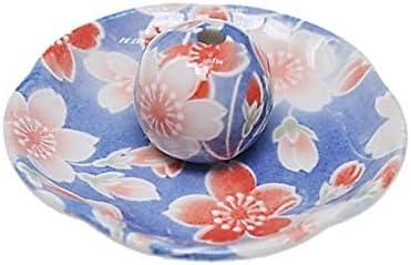 桜染 花形香皿 お香立て お香たて 日本製 ACSWEBSHOPオリジナル