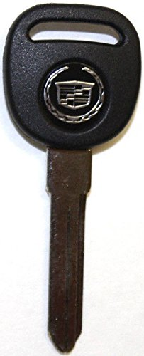 NEW CADILLAC REPLACEMENT PK3 ID13 TRANSPONDER CHIP UNCUT IGNITION/DOOR LOGO  KEY