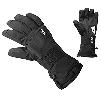 Demon Cinch WRISTGUARD Waterproof Snowboard Glove (Medium): Sports & Outdoors
