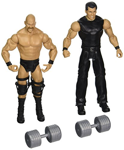WWE Figure 2-Pack, Stone Cold Steve Austin and Mr. McMahon (Stone Cold Action Figure)
