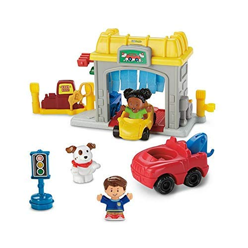 Fisher-Price Little People Road Trip Ready Garage (Fisher Price Garage Little People)