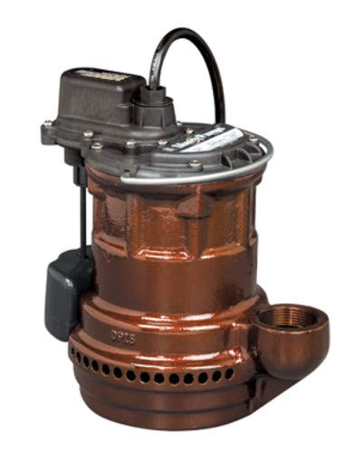 Liberty Pumps 247 VMF 1/4-Horse Power 1-1/2-Inch Discharge 240-Series Cast Iron Automatic Submersible Sump Pump with VMF Switch Automatic Cast Iron Series