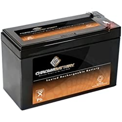 CB CHROMEBATTERY SLA-12V-7CB-8 Sealed Lead Acid (SLA) Battery Piranha MAX 160 Fish Finder