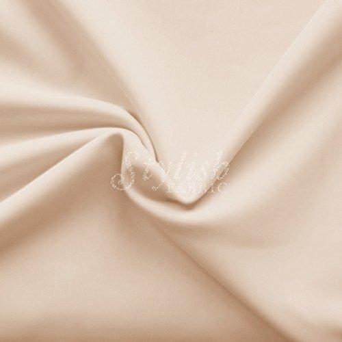 Nude Matte Performance Tricot Knit Fabric for Swimwear Activewear Sportswear -1 Yard