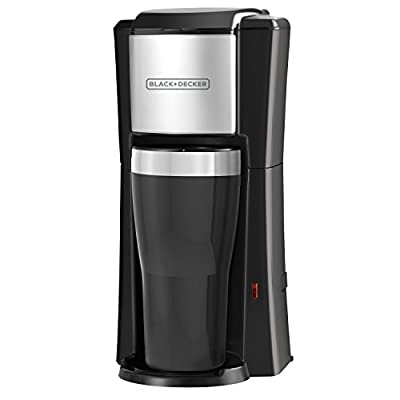 Single Serve Coffeemaker, Black, CM618
