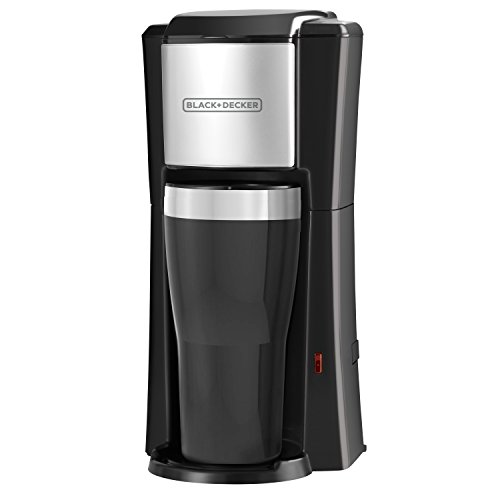 BLACK+DECKER Single Serve Coffee Maker, Black, CM618