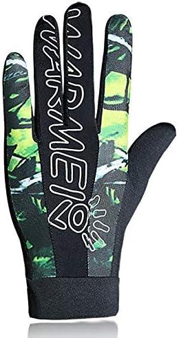 手袋 日常 実用 UPF50 薄型アウトドアスポーツサンプロテクショングローブのポイント (Color : GREEN, Size : XL-Two pairs)