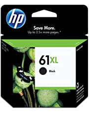 HP #61XL DeskJet 3050 / 3000 / 2050 / 2000 / 1050 / 1000 Black Inkjet Cartridge, Part # CH563WN