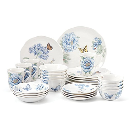 Fruit Enchantment Bowl (Lenox 865074 28 Piece Butterfly Meadow Blue Dinnerware Set)