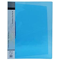 Clip File Document Pocket Folders Project File Clamp Binder Clear A4 Size Document Folders Pack of 10