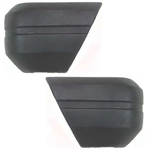 Koolzap For NEW 84-96 Cherokee Front Bumper Face Bar Extension End Left Right Side SET PAIR