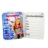 Hannah Montana 'Rock the Stage' Invitations w/ Envelopes (8ct)