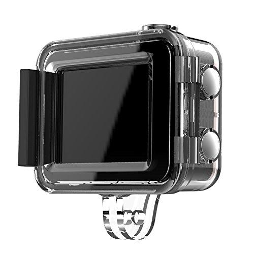 41ggMwpFF0L EZVIZ 5 PLUS Ultra HD 4K Video Wifi Sports Action Camera with Waterproof Touchscreen Case, Gold
