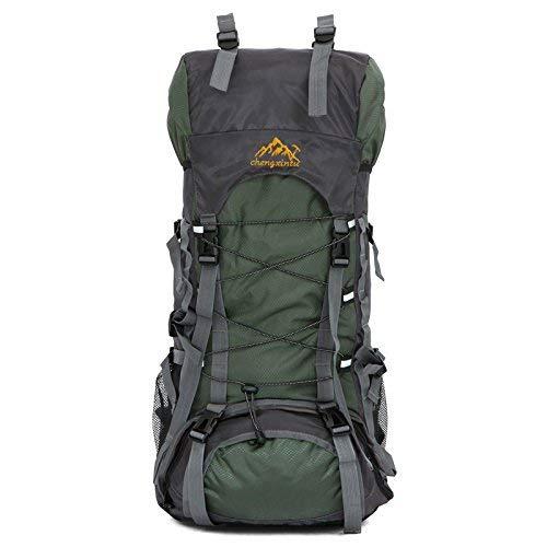 HX fashion ラップトップバックパックトレッキングバックパック多機能旅行バックパックアウトドアバックパック登山バックパックトレッキングバックパック大容量 B07Q8W25R8 Colour One Size