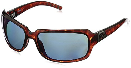 (Costa Del Mar Isabela Sunglasses Tortoise/Blue Mirror 580Plastic)