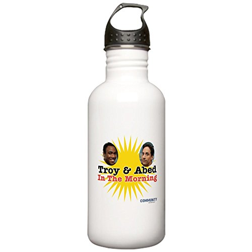 CafePress - Troy And Abed In The M Stainless Water Bottle 1 - Stainless Steel Water Bottle, 1.0L Sports - Donald Glover Style