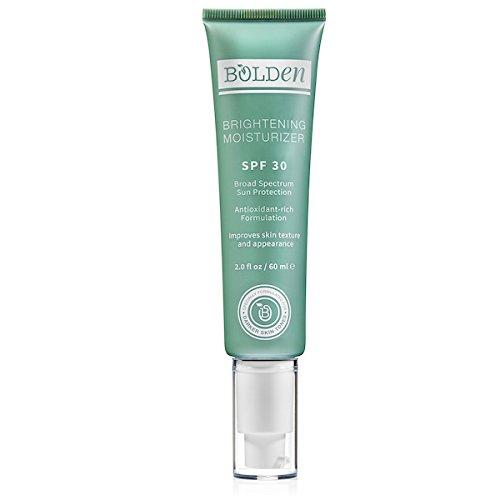Bolden Brightening Moisturizer SPF 30, Specially Formulated for Darker Skin Tones 2.0 Oz