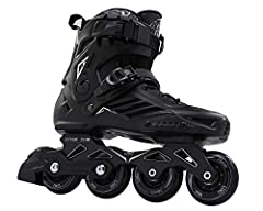 Our inline skate is made of high-quality material, ensure miles of smooth rolling with durability. Real skates providing superior support, smooth rolling and comfort these are not toys found at similar prices.Package Content: 1 x Pair of Inli...