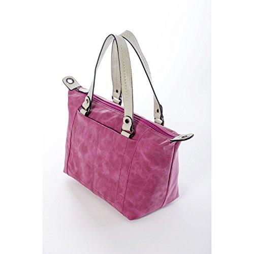 amp; Noah handbag Emily Perla pink zFddqxH5