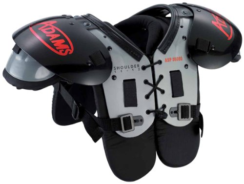 Adams Youth Football Shoulder Pad (160-180-Pounds)