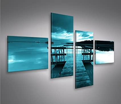 Bridge 4L Natura Quadri moderni intelaiati - pronti da appendere ...