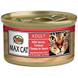 Nutro Max Savory Venison Canned Cat Food 3 oz. 24 cans