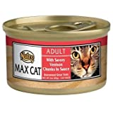 nutro max cat food - Nutro Max Savory Venison Canned Cat Food 3 oz. 24 cans