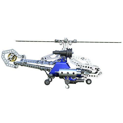 Meccano Tactical Copter Model Building Set, 374 Pieces, For Ages 10+, STEM Construction Education Toy from Meccano