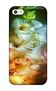 Iphone 5/5s Case Slim [ultra Fit] Flower Protective Case Cover