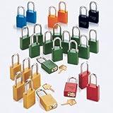 American Lock® Keyed Alike Padlock - Black Padlock - 3'' Shackle Length - Set Of 3