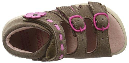 Däumling Benny - Zapatos primeros pasos de cuero para niña Marrón - marrón (Turino tartuffo89)