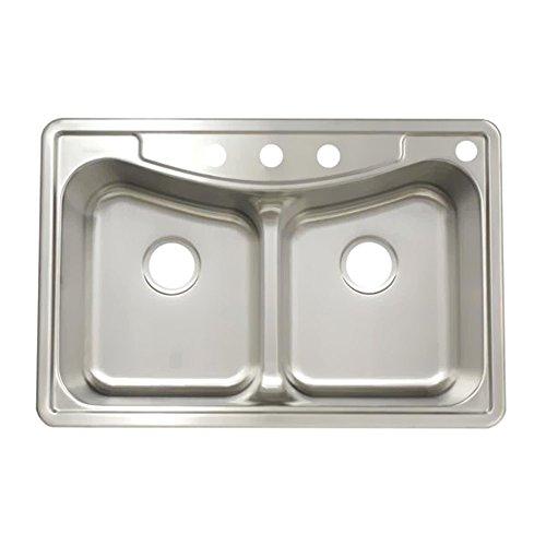 Franke Double Bowl Faucet - 8